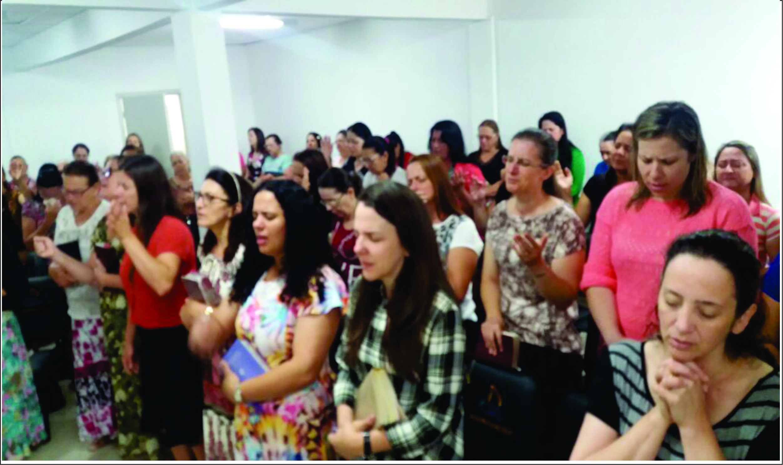SANTIFICAÇÃO DEPARTAMENTO FEMININO
