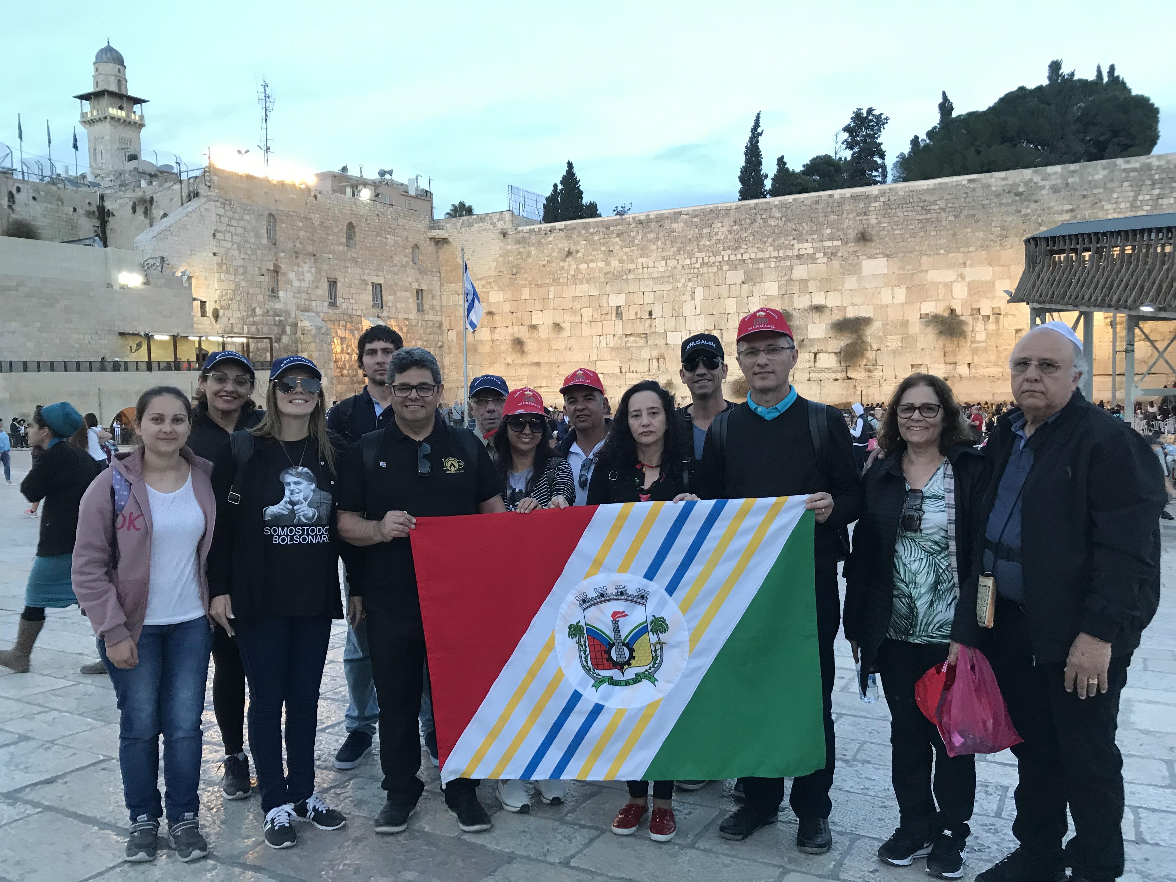 Caravana de Cocal do Sul visita Roma, Egito e Israel.