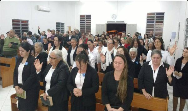 C.O.F. ALTAR DE LAGRIMAS REALIZA CULTO