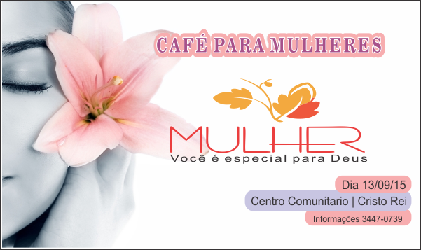 CAFÉ PARA MULHERES