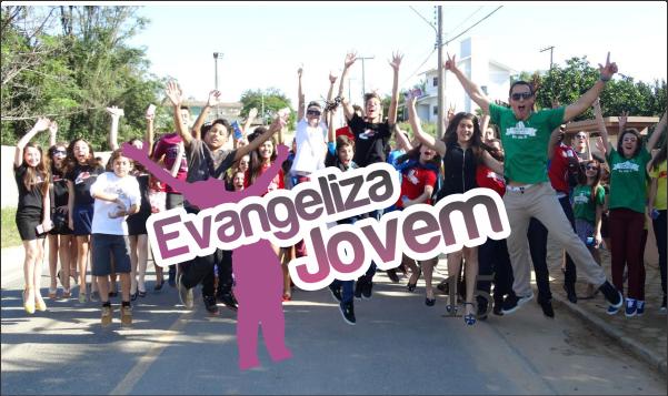 DOMINGO FOI DIA DE EVANGELIZA JOVEM