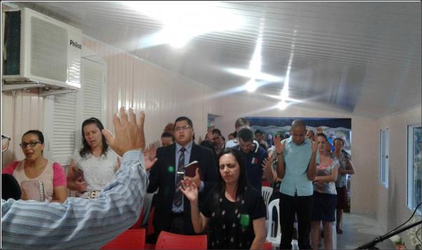 SALVAÇÃO DE ALMAS EM CULTO NA LINHA RIO PERSO