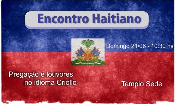 ENCONTRO HAITIANO