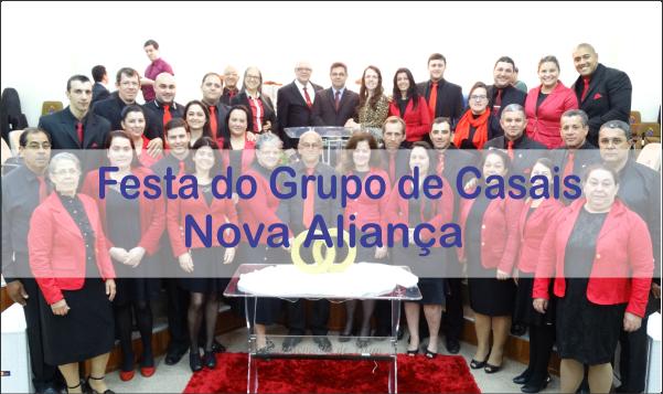 FESTA DO GRUPO DE CASAIS NOVA ALIANÇA