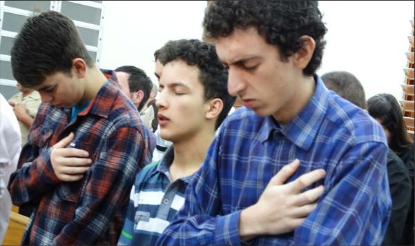 JUADCS PARTICIPOU DO CULTO DA FAMÍLIA