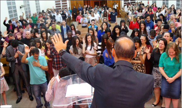 PRIMEIRA NOITE DO 4º CONGRESSO DE MISSÕES