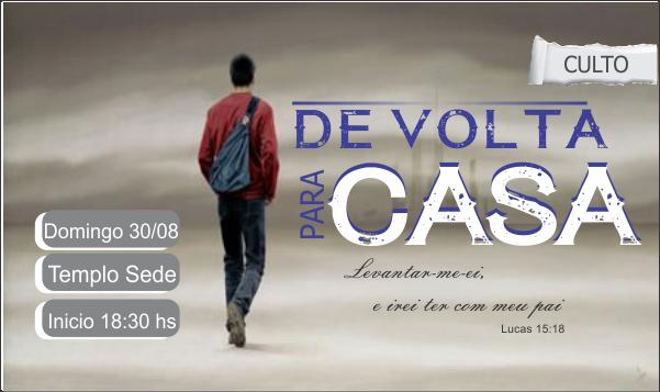 DE VOLTA PARA CASA