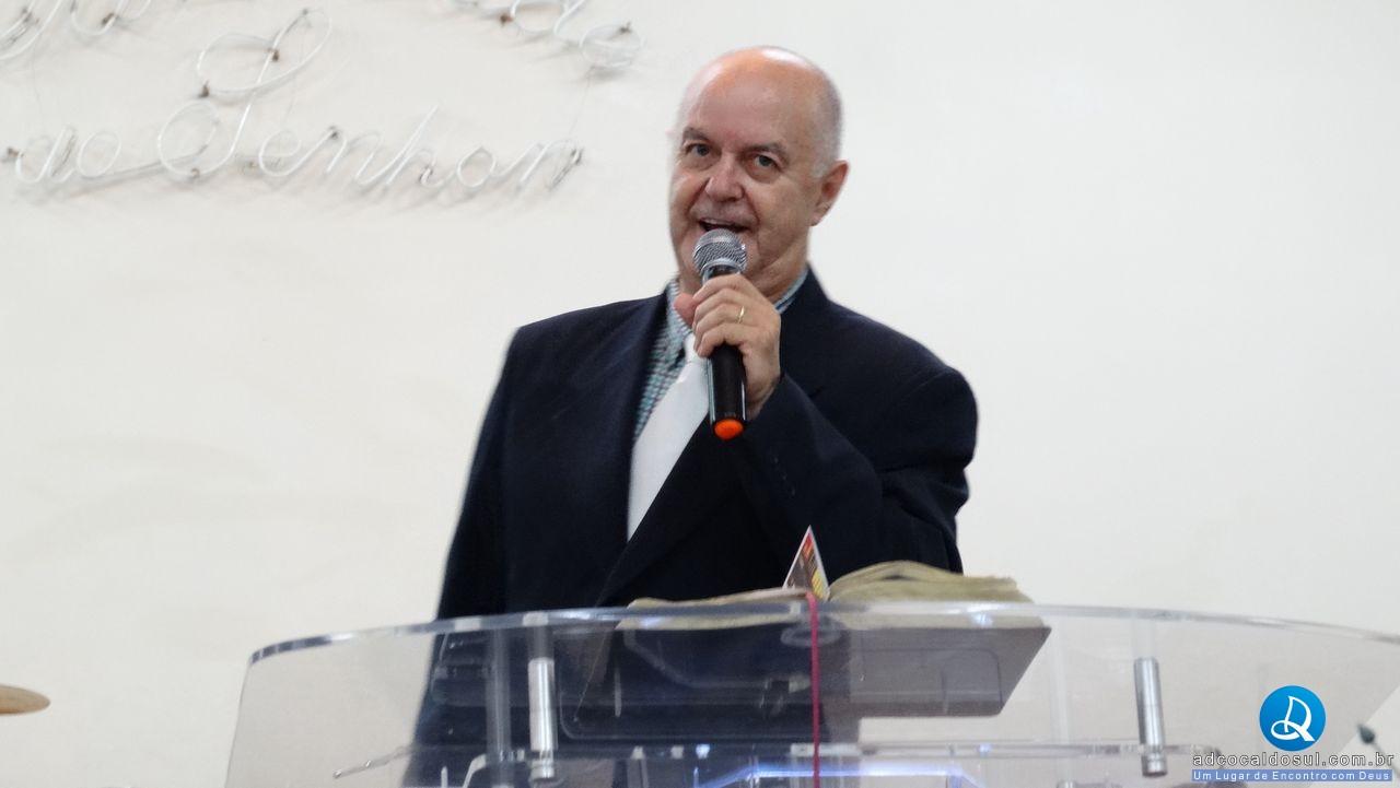 PR WANDERLEY TRIBECK PARTICIPE DE CULTO NA AD COCAL